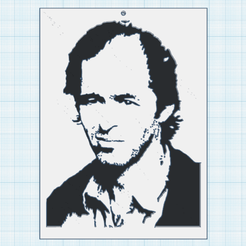 0.png Download free STL file Jean-Jacques Goldman • 3D printer model, oasisk