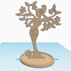 0.png Download free STL file Femme-Arbre • 3D printing design, oasisk