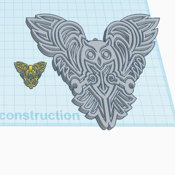 chouette.png Download free STL file OWL OWL Pendant and Wall Decoration • 3D printing object, oasisk