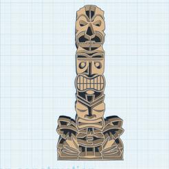 0.png Download free STL file Tiki • 3D printer model, oasisk