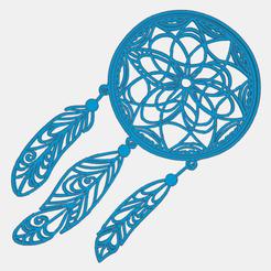 0.png Télécharger fichier STL gratuit Attrape-reve • Modèle pour impression 3D, oasisk