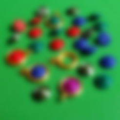 Download free 3D printing files DIAMOND PENDANT, oasisk