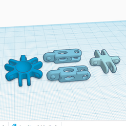 Download free 3D printer templates 2, 4 and 6 BRANCH ASSEMBLY, oasisk