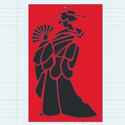 0.png Télécharger fichier STL gratuit Geisha Nov2020 • Plan pour impression 3D, oasisk