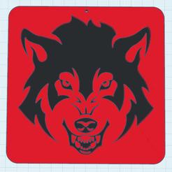 0.png Télécharger fichier STL gratuit Loup Decor • Objet pour imprimante 3D, oasisk