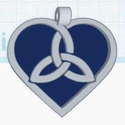 0.png Download free STL file Celtic Heart 3 • 3D printer template, oasisk