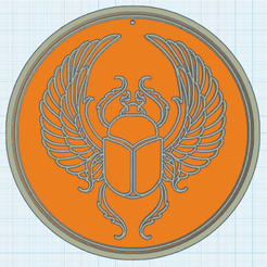 0.png Download free STL file Khepri, the sacred beetle • 3D printable model, oasisk