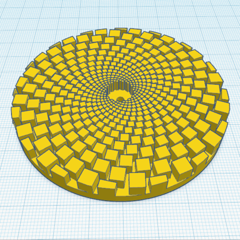 2.png Download free STL file Digital sunflower • 3D printer template, oasisk
