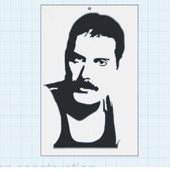 0.png Download free STL file Freddie Mercury • 3D printer design, oasisk