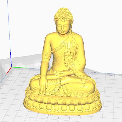 0.png Télécharger fichier STL gratuit BOUDDHA THAILANDAIS • Plan pour imprimante 3D, oasisk