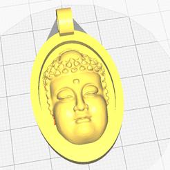 Descargar archivo STL gratis Colgante de Buda • Modelo imprimible en 3D, oasisk