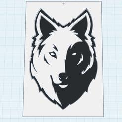 Descargar archivos STL gratis Lobo en Blanco y Negro, oasisk