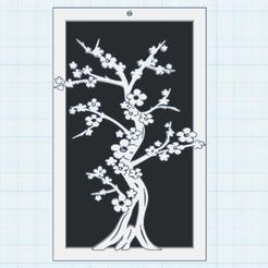 0.png Télécharger fichier STL gratuit Cerisier en fleurs • Plan imprimable en 3D, oasisk