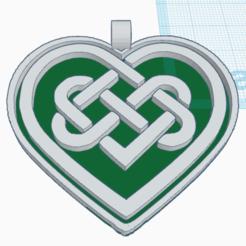 4.png Download free STL file Celtic Heart 1 • Design to 3D print, oasisk