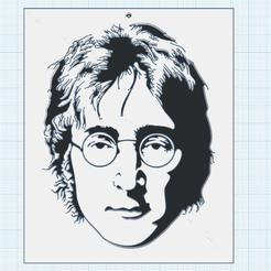0.png Download free STL file John Lennon • Design to 3D print, oasisk