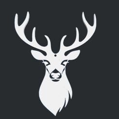 0.png Télécharger fichier STL gratuit Cerf • Modèle pour impression 3D, oasisk