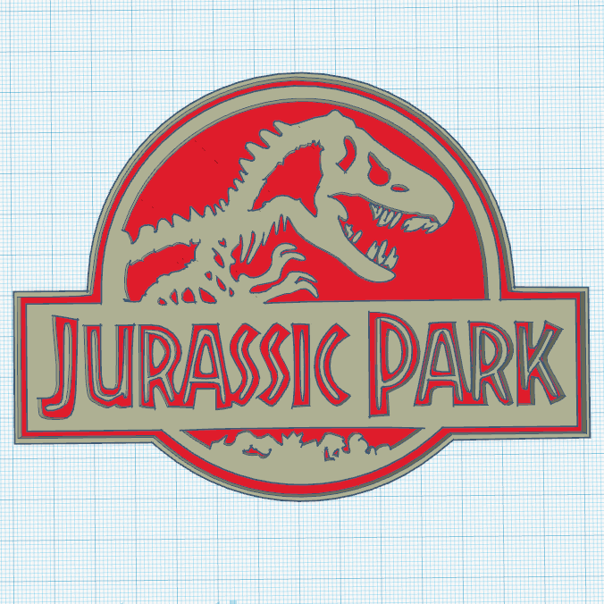 0.png Download free STL file Jurassik Park • Template to 3D print, oasisk