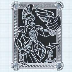 0.png Télécharger fichier STL gratuit Athena modele 2 • Plan pour imprimante 3D, oasisk