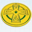 Télécharger fichier imprimante 3D gratuit Croix celtique modèle 4, oasisk