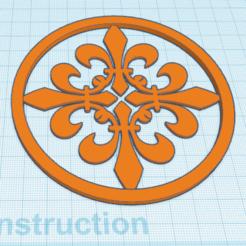 Descargar modelos 3D gratis Decoración de la Flor de Lys, oasisk