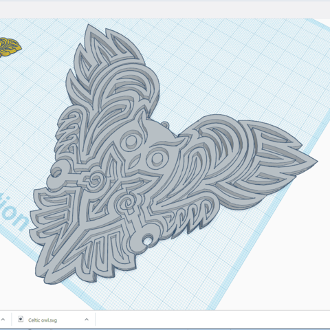 Chouette_Decor.png Download free STL file OWL OWL Pendant and Wall Decoration • 3D printing object, oasisk