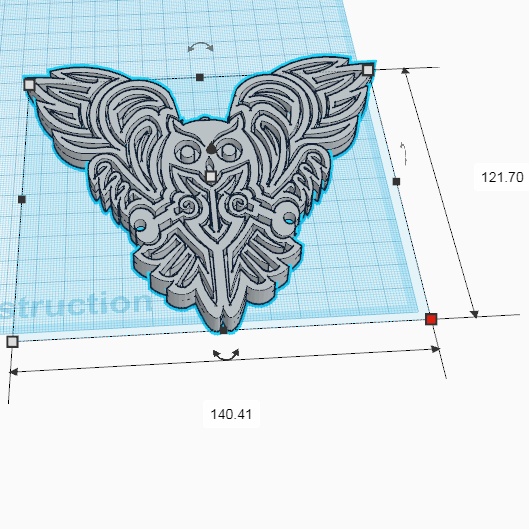 Chouette_Decor2.png Download free STL file OWL OWL Pendant and Wall Decoration • 3D printing object, oasisk