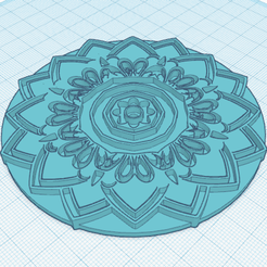 Download free 3D model Mandala, oasisk