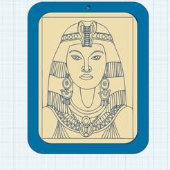 0.png Download free STL file Cleopatra • 3D printable model, oasisk