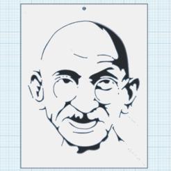 0.png Télécharger fichier STL gratuit Mahatma Gandhi • Design pour impression 3D, oasisk