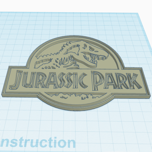 2.png Download free STL file Jurassik Park • Template to 3D print, oasisk