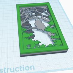 Télécharger fichier 3D gratuit Décor 3D Hibou, oasisk