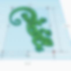 Télécharger fichier STL gratuit TRIBAL LEZARD, oasisk