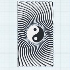 0.png Télécharger fichier STL gratuit Yin Yang Vortex • Design à imprimer en 3D, oasisk