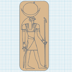 0.png Download free STL file Ra, the Egyptian sun god... • Object to 3D print, oasisk