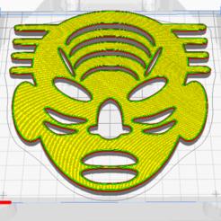 Download free 3D printing designs African Mask 3, oasisk