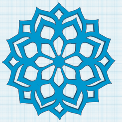 1.png Download free STL file Mandala 3 Lotus • 3D printer object, oasisk