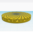 3.png Download free STL file Digital sunflower • 3D printer template, oasisk