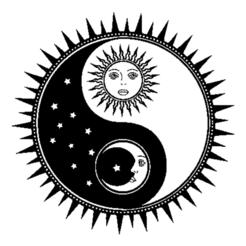 yin yang jour et nuit.png Télécharger fichier STL gratuit Yin-Yang Soleil et Lune • Modèle pour imprimante 3D, oasisk