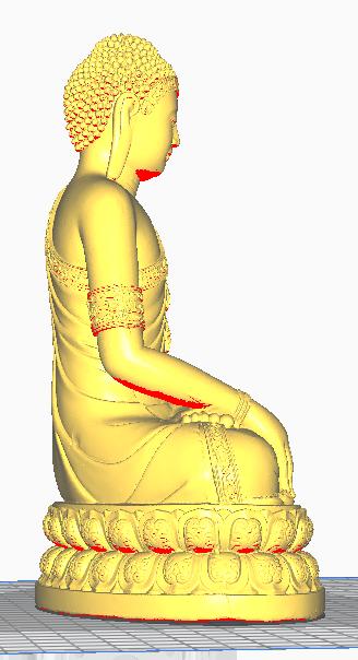 5.png Télécharger fichier STL gratuit BOUDDHA THAILANDAIS • Plan pour imprimante 3D, oasisk