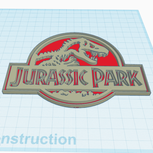 1.png Download free STL file Jurassik Park • Template to 3D print, oasisk