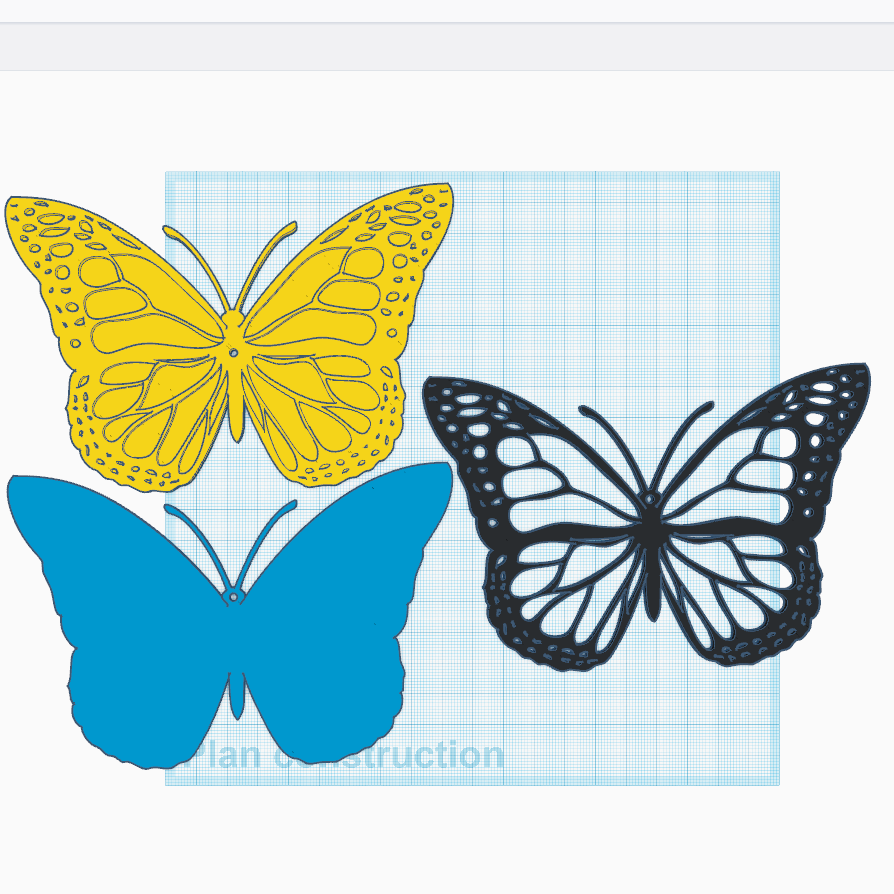 2.png Download free STL file Monarch Butterfly • 3D print design, oasisk