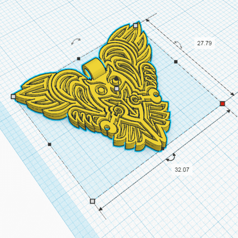 Chouette_Pendentif2.png Download free STL file OWL OWL Pendant and Wall Decoration • 3D printing object, oasisk