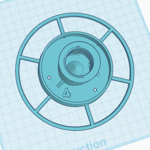 4.png Télécharger fichier STL gratuit Distributeur de graines • Plan pour impression 3D, oasisk