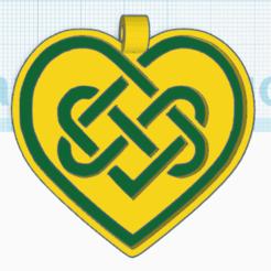 Download free 3D print files Celtic Heart 2, oasisk