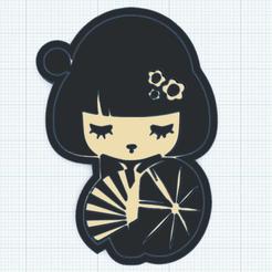 0.png Télécharger fichier STL gratuit Baby Geisha • Objet à imprimer en 3D, oasisk