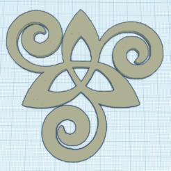0.png Download free STL file Triquetra triskelisee • 3D printer model, oasisk