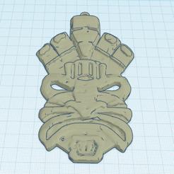 Download free 3D printing designs INCA MASK, oasisk