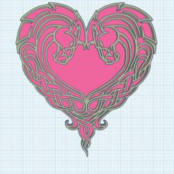 0.png Download free STL file Dragon Heart • 3D print object, oasisk