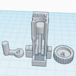 3.png Download free STL file Single Cylinder 4 Stroke_Test Print • Model to 3D print, oasisk