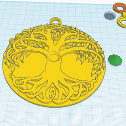 Download free 3D printing models DIAMOND ON TREE OF LIFE, oasisk